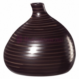 Petit Vase OVal Marron - ASA Selection