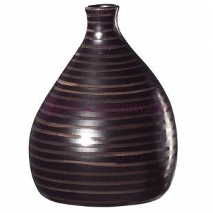 Grand Vase Oval Marron - ASA Selection