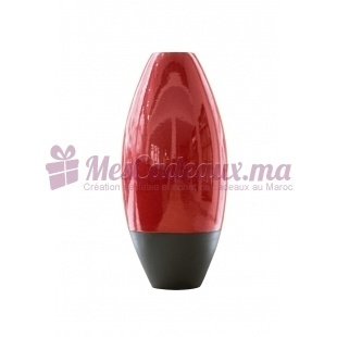 Vase en arc bicolore rouge