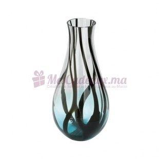 Vase verre  D 28.5 H 60cm cm - Fink