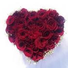Coffret Cœur de roses