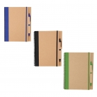 Pack 3 cahiers notebooks écologiques