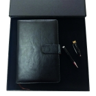 Coffret agenda + stylo USB Black