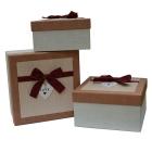 3 boites cadeau Love