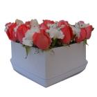 Boite fleurs Heart moyenne