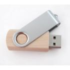 Clé USB Twist bois et métal