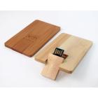 Clé USB carte bois