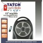 TATCH Swiss tech - Ventilateur Noir
