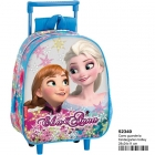 Cartable a Roulette Elsa & Anna - Disney