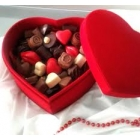Grand coffret chocolat Love