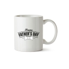 Mug Happy Father's Day White