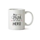 Mug Mon papa est mon héro