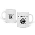 Pair de mugs One Piece addict