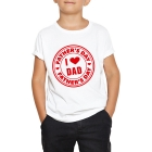 T-shirt enfant I love dad father's day