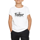T-shirt enfant my father my hero