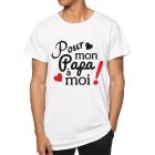 T-shirt Pour mon papa à moi