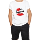 T-shirt enfant I Love my mama