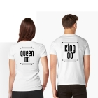 T-shirts King & Queen