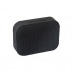 Haut-parleur vintage tissu noir