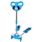 Trottinette Double Panda – 4 roues – Bleue