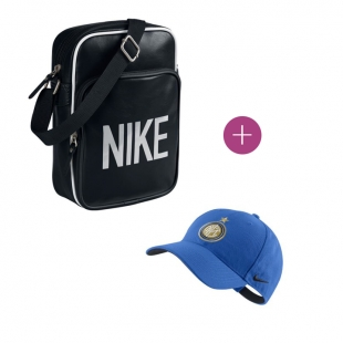 Pack Sacoche Nike+ Casquette Inter Milan