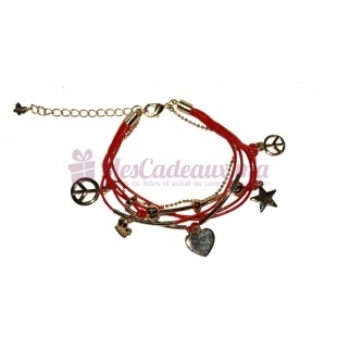 Bracelet Peace And Love - Melany Brown