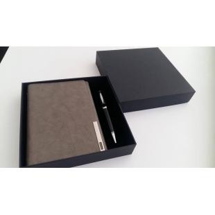 Coffret agenda + stylo USB