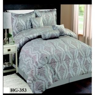 Parure de lit imprimée arabesque