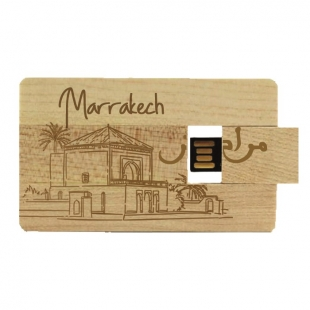 Clé USB carte Marrakech