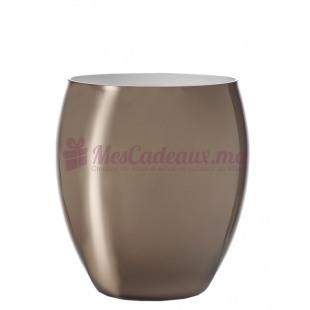 Vase Opaque Beige Beauty - 19 cm