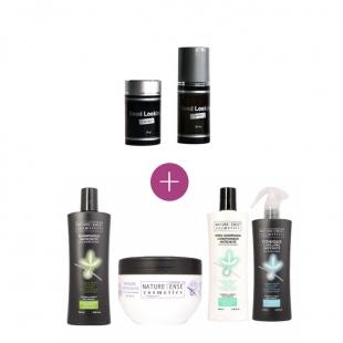 Poudre de cheveux + Pack traitement antichute