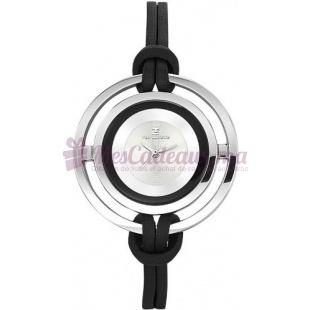Montre - Ted Lapidus - Bracelet Cuir Noir A0442Rbnn