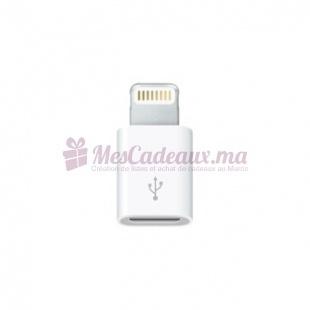 Adaptateur Lightning - Apple - Vers Micro Usb