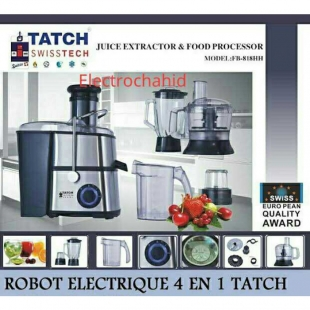 TATCH Swiss tech - Robot électronique 4EN1