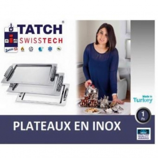 TATCH Swiss tech - grand plateau inox