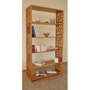 Bibliothèque moucharabieh Noor L110 x P35 x H201