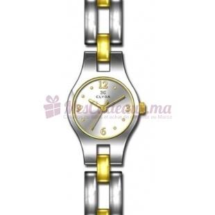Montre - Clyda De Paris - Bracelet Acier Bicolore Cla0367Bbbx