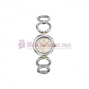 Montre - Clyda De Paris - Bracelet Argent Cla0438Bbix