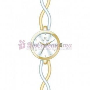 Montre - Clyda De Paris - Bracelet Doré Acier Cla0503Bbpw