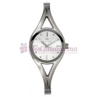 Montre - Clyda De Paris - Bracelet Métal Argent Cla0505Rbpw
