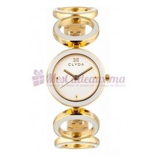 Montre - Clyda De Paris - Bracelet Doré Cla0507Papx