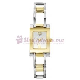Montre - Clyda De Paris - Bracelet en Acier Inoxydable Cld0228Bfbx