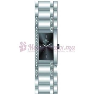 Montre - Clyda De Paris - Bracelet Argent Métal Rhodié Cld0470Rniw