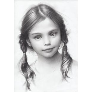 Portrait 30 X 42 Cm