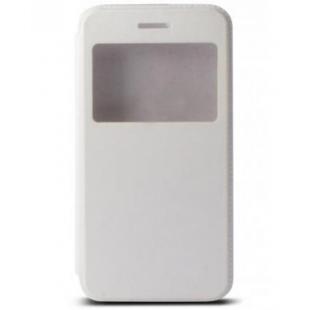 Ksix - Flip case pour iPhone 6, 6S White