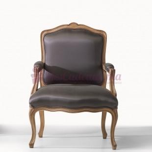 Fauteuil sans accoudoirs Louis XV