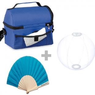 Pack sac isotherme + éventail folklore + ballon nemon