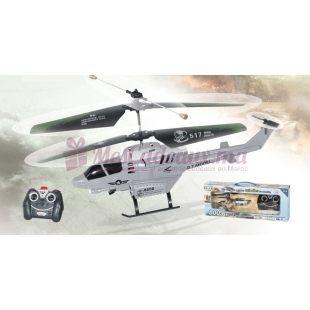Helicoptère lanceur télécommandé - G.T MODEL - 8009