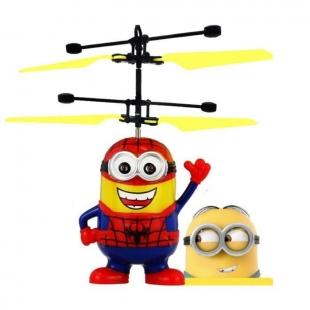 Hélicoptère Minions Spiderman