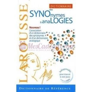 Larousse Des Synonymes Et Des Analogies - Larousse 2008